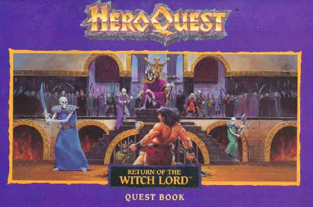 Heroquest Return Of The Witch Lord